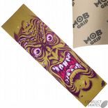 "SANTA CRUZ MOB ""Face"" Skateboard Griptape 9""x33"" Yellow Jim Phillips Rob Roskopp GRIP TAPE"
